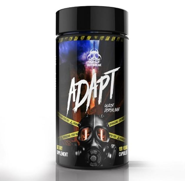 Outbreak Nutrition: Adapt Pre-Workout (120 Capsules)