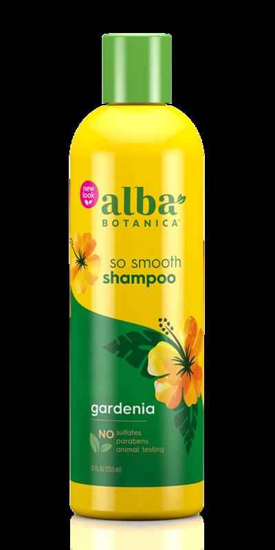 Alba Botanica: Gardenia Hydrating Hair Wash - So Smooth (350ml)