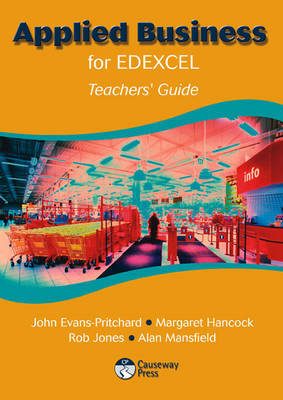 Applied Business for Edexcel Teacher's Guide by John Evans-Pritchard image