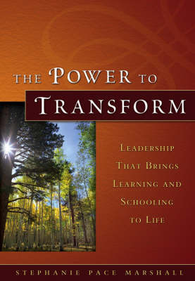 The Power to Transform by Stephanie Pace Marshall image
