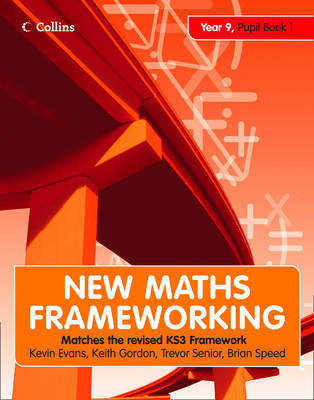 New Maths Frameworking - Year 9 Pupil Book 1 (Levels 4-5) by Kevin Evans image
