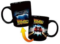 Back to the Future - Delorean Heat Changing Mug