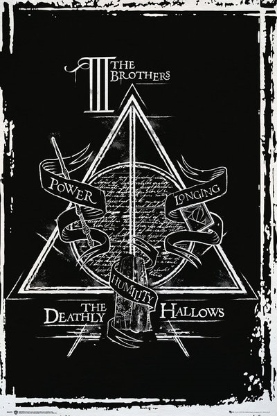 Harry Potter Poster - Deathly Hallows Graphic (533)