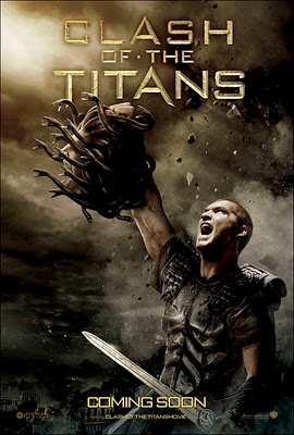 Clash of the Titans on DVD image
