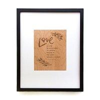 Cardtorial Print - Love Is Like Wildflowers image