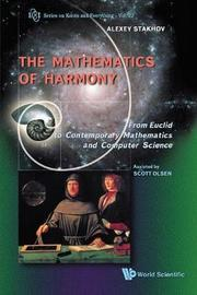 Mathematics Of Harmony: From Euclid To Contemporary Mathematics And Computer Science by Alexey Stakhov image