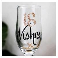 Wishes: 18 Wishes Rose Gold Flute image