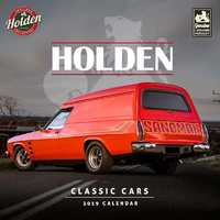 Classic Holden Cars 2019 Square Wall Calendar