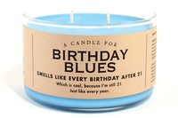 Whiskey River Co: Candle - Birthday Blues