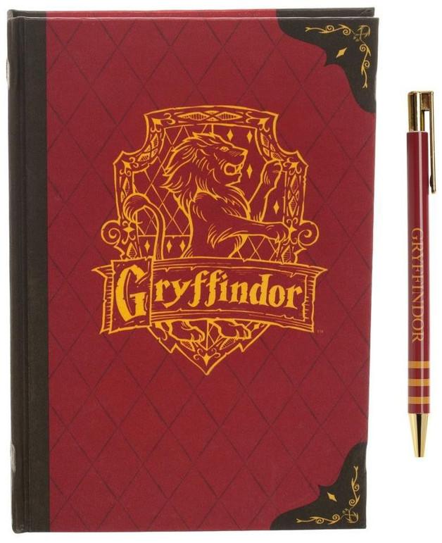 Harry Potter Journal and Pen Set - Gryffindor