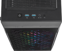 CORSAIR iCUE 220T RGB Airflow Tempered Glass Mid-Tower Smart Case Black