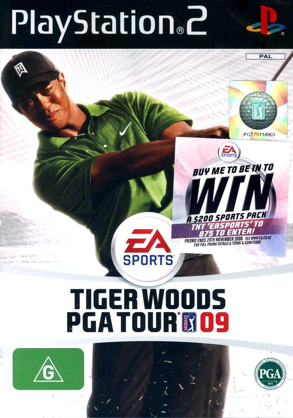 Tiger Woods PGA Tour 09 for PS2 image