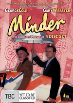 Minder - Complete Series 9 (4 Disc Box Set) on DVD
