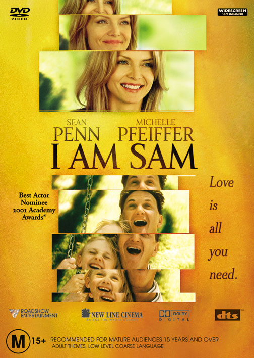 I Am Sam on DVD image