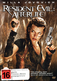 Resident Evil: Afterlife on DVD