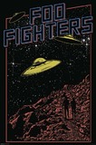 Foo Fighters UFO Wall Poster (409)