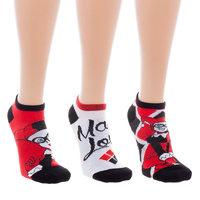 Harley Quinn 3 Pack Ankle Sock Set