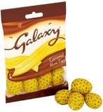 Galaxy Chocolate Caramel Mini Eggs Bag (84g)