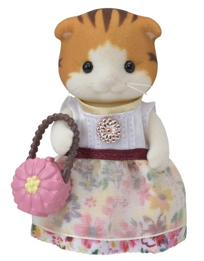 Sylvanian Families: Maple Cat - Town Series Doll
