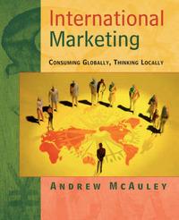 International Marketing by Andrew McAuley