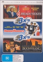 Head Of State / The Honeymooners / Boomerang - 3x's: Collectors Selections (3 Disc Set) on DVD