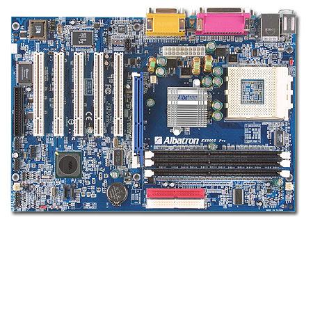Albatron Motherboard KX600S PRO - SKT A SATA+LAN+5.1 SOUND - 400FSB