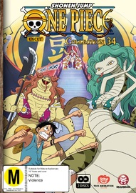 One Piece (Uncut) - Collection 34 on DVD