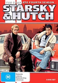Starsky & Hutch (Season 4) on DVD