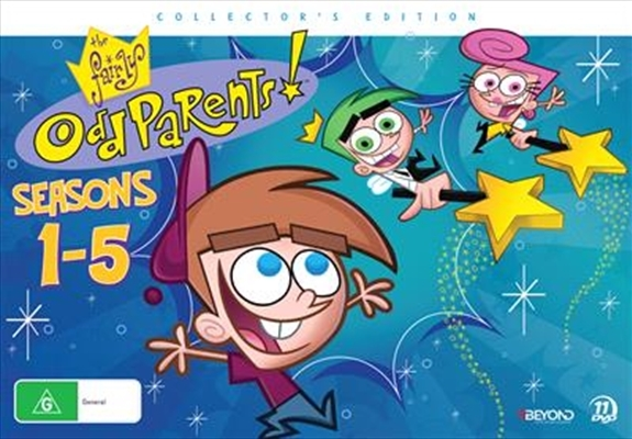 the fairly oddparents seasons 1 5 dvd buy now at mighty ape