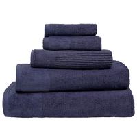 Bambury Costa Cotton Bath Towel (Ink)