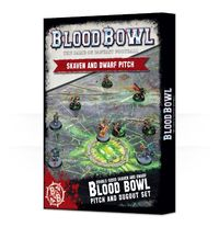 Blood Bowl: Skaven & Dwarf Pitch & Dugouts