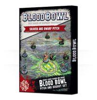 Blood Bowl: Skaven & Dwarf Pitch & Dugouts image
