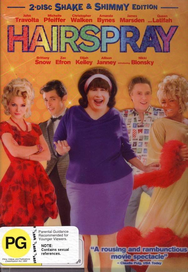 Hairspray: Special Edition (2007) (2 Disc Set) on DVD image