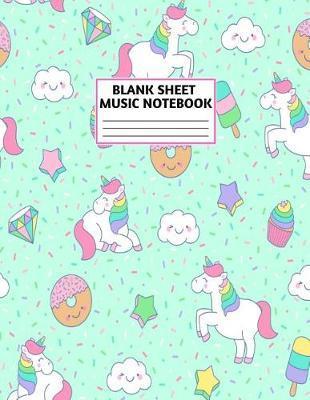 Blank Sheet Music Notebook by Amiyah Petersen Music