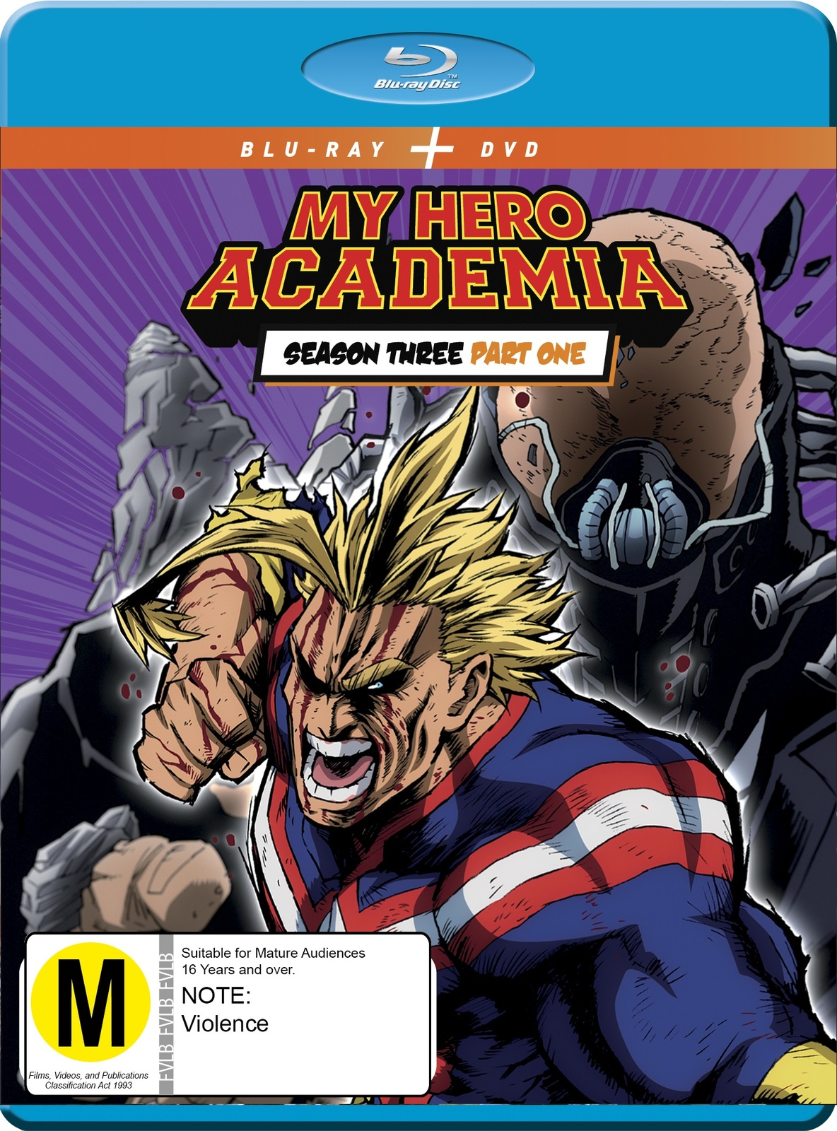 My Hero Academia - Season 3: Part 1 Blu-ray & DVD Combo on DVD, Blu-ray image