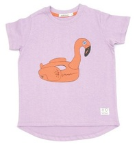 Indikidual: Flamingo Print T-Shirt (8-9 years) image