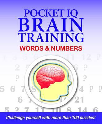 Pocket IQ Brain Trainer: Words and Numbers by Erwin Brecher image