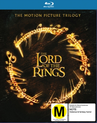 The Lord Of The Rings Trilogy Boxset (6 Disc Set) on Blu-ray