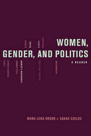 Women, Gender, and Politics by Mona Krook image