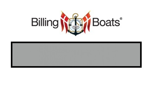 Billing Boats: Acrylic Paint - Pale Grey (22ml)