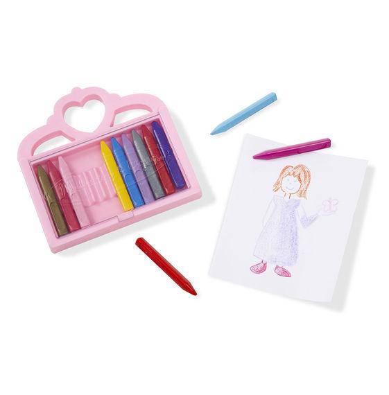 Melissa & Doug: Princess Crayon Set