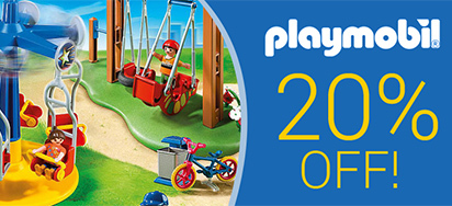 20% off Playmobil