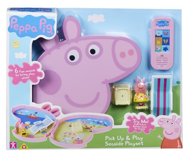 Peppa Pig: Pick Up & Play Case - Seaside