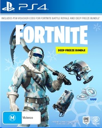 Fortnite: Deep Freeze Bundle (code in box) for PS4