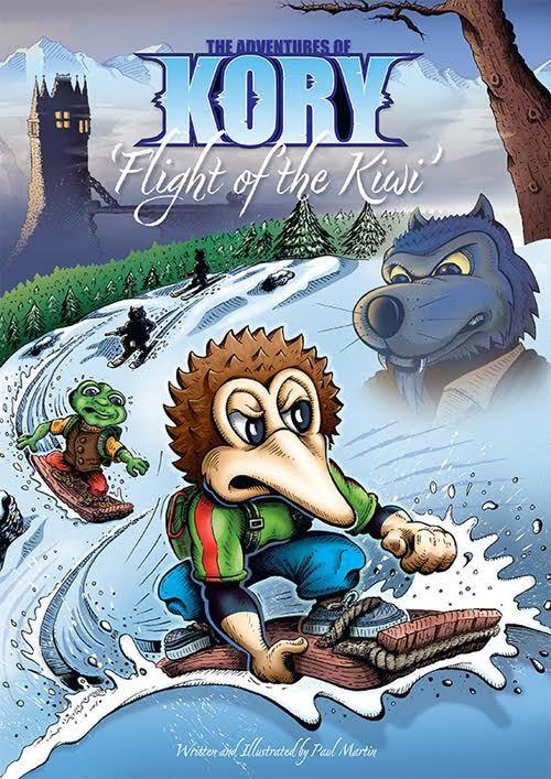 The Adventures of Kory 'Flight of the Kiwi' by Paul Martin