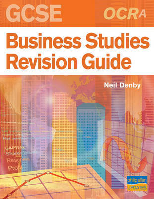OCR (A) GCSE Business Studies Revision Guide by Neil Denby image