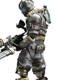 "Dead Space 3 Play Arts Kai ""Isaac Clarke"" Action Figure"