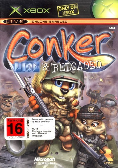 Conker: Live and Reloaded for Xbox