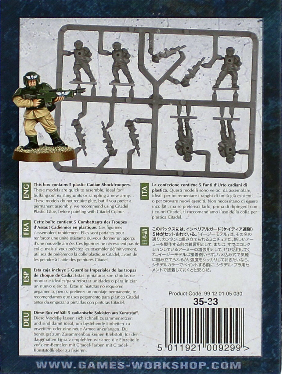 Warhammer 40,000 Imperial Guard Cadians image