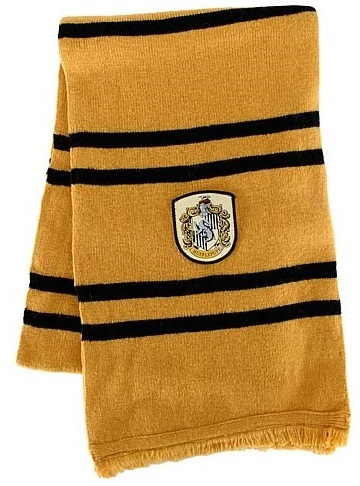 Harry Potter Hufflepuff House Scarf